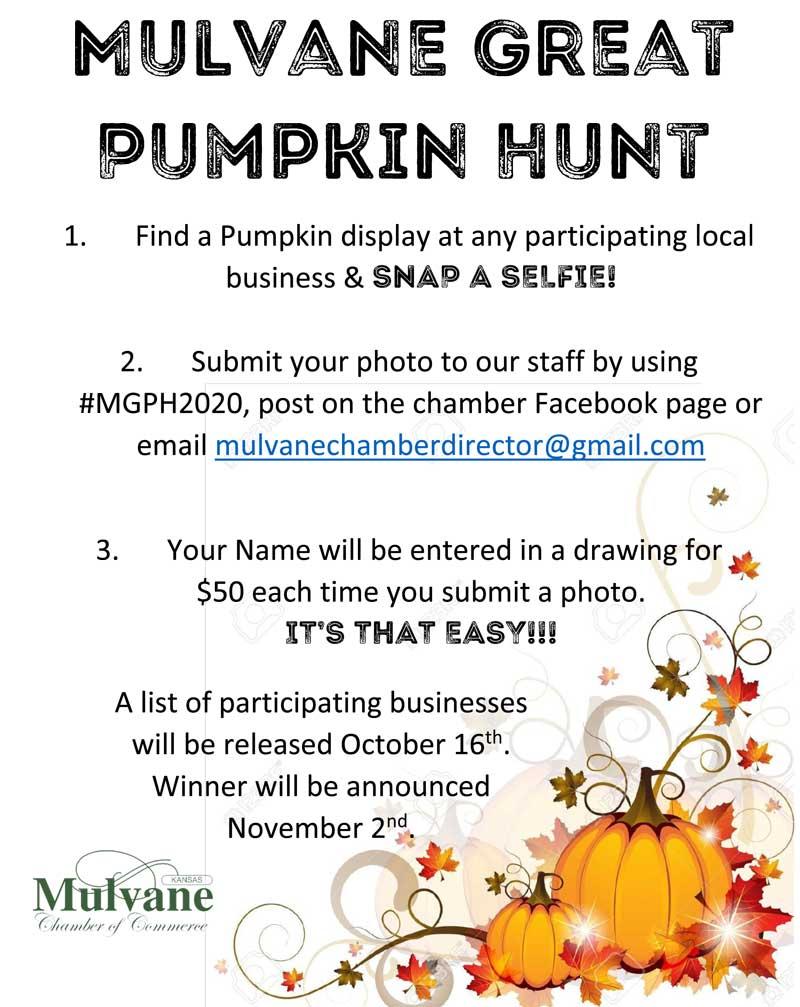 Great Pumpkin Hunt Flyer