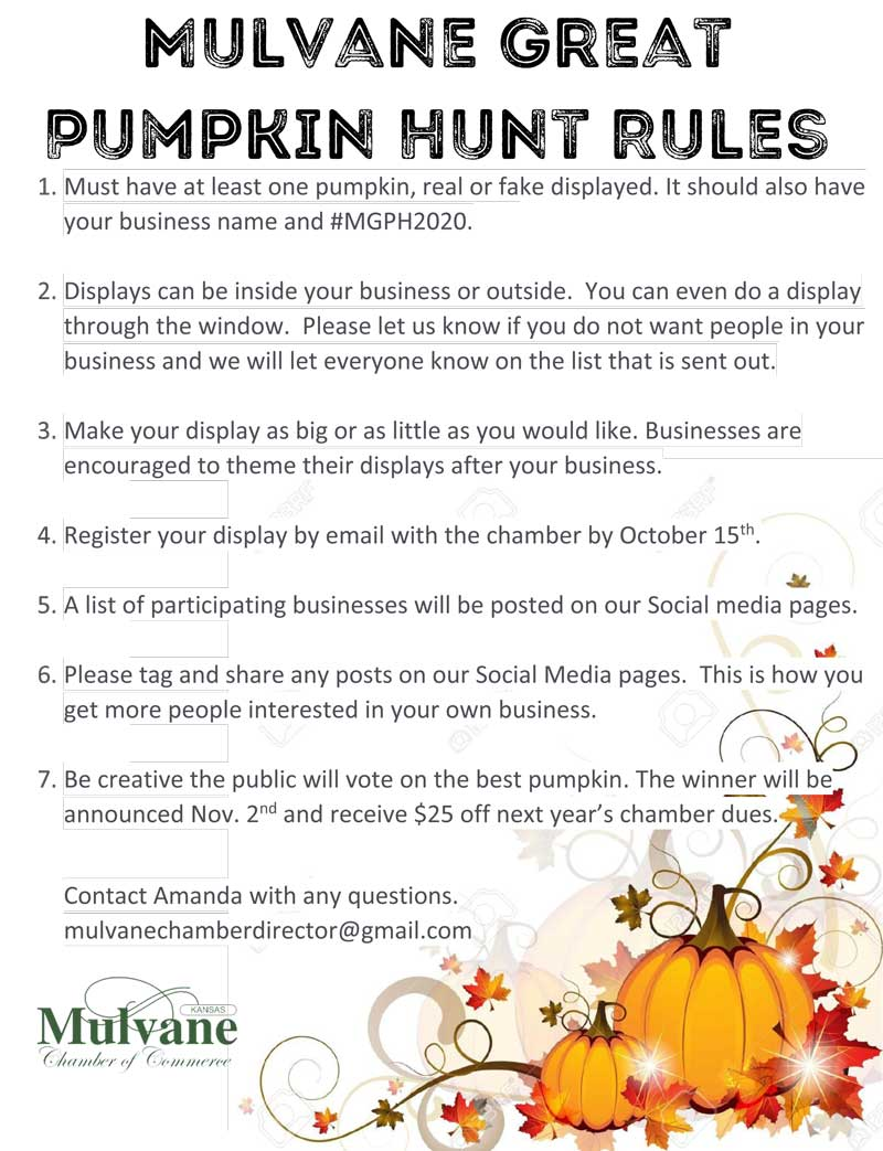 Great Pumpkin Participation Flyer