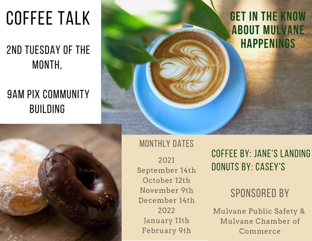 Coffee with Cops is now Coffee Talk