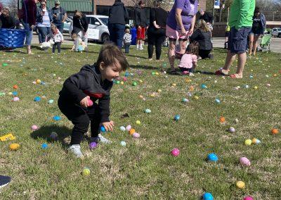 2021 Mulvane Kansas Easter Egg Hunt